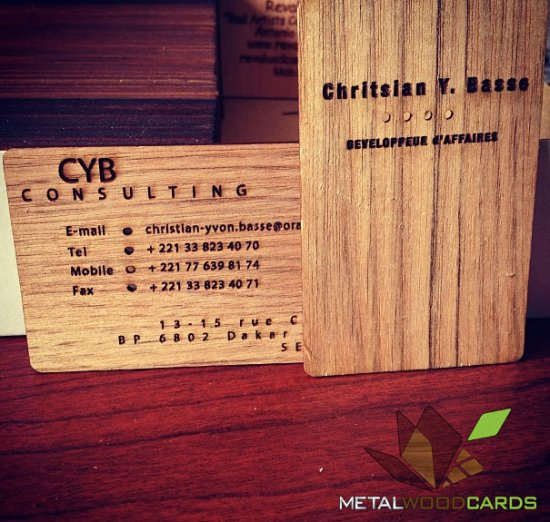 CYB Consulting is a two credit card