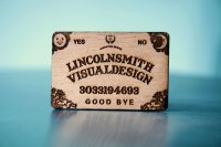 High Precision Laser Engraved Wooden Cards-thumb