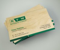 Maple Wood Business Card-thumb