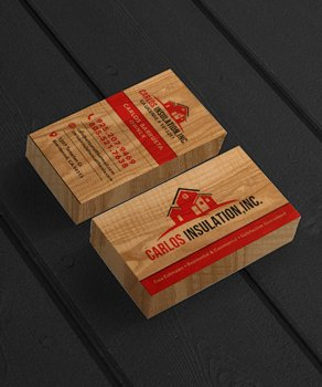Insulation Company Business Cards