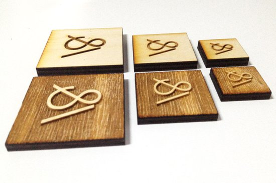 Engraved Wood Coasters